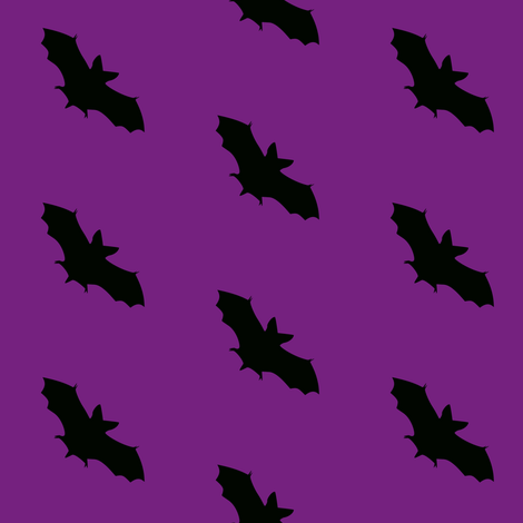 I'm Batty! fabric by peacoquettedesigns on Spoonflower - custom fabric