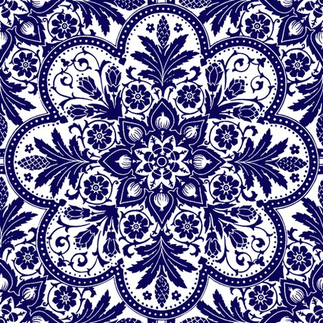 Rbourgogne_tile____admiral____blue_and_white___peacoquette_designs___copyright_2014._shop_preview