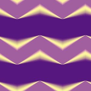 Mauve 3d Chevron and Violet Bands
