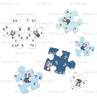 Paper Doll Puzzle