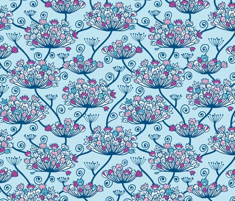 Flower Cower fabric by oksancia on Spoonflower - custom fabric