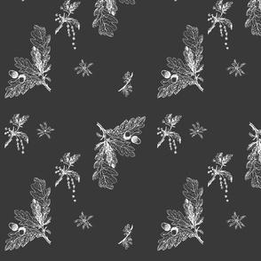 oak in gray