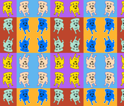 pop_art dogs fabric by isabella_asratyan on Spoonflower - custom fabric