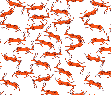 red_antelope fabric by isabella_asratyan on Spoonflower - custom fabric