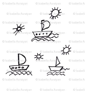 sailing under the sun