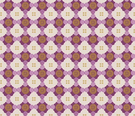 ornament_9 fabric by isabella_asratyan on Spoonflower - custom fabric
