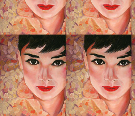 Audrey fabric by wsmahoney on Spoonflower - custom fabric