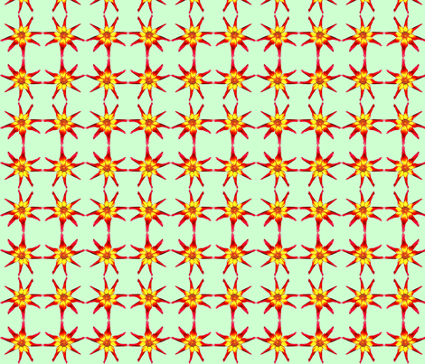 Dahlia Check fabric by robin_rice on Spoonflower - custom fabric