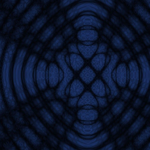 Dark Blue And Black Celtic Diffraction