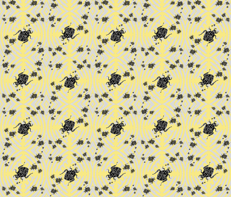 Bug Slug fabric by donna_kallner on Spoonflower - custom fabric