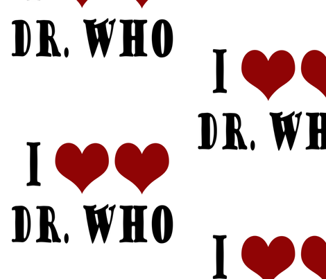Love the Dr fabric by snickerslynn on Spoonflower - custom fabric