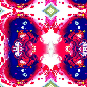 DRE DESIGNS CHROMATIC ABSTRACT 192
