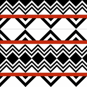 Cheater Chevron Quilt