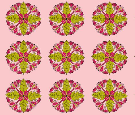 leaf criss cross 1-ch