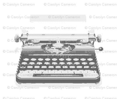 ASCII Typewriter