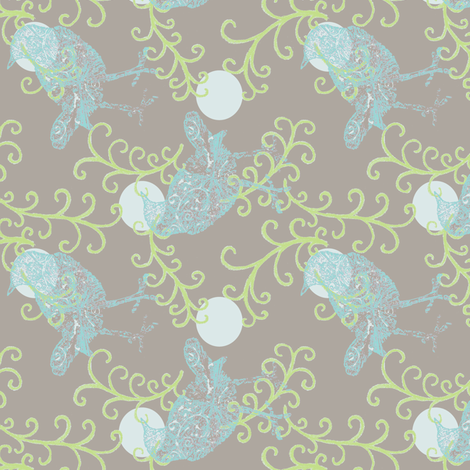 Evening Song fabric by keweenawchris on Spoonflower - custom fabric