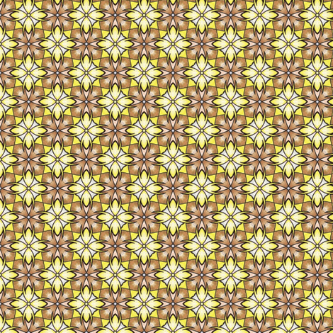 Sinicha's Banana Check fabric by siya on Spoonflower - custom fabric