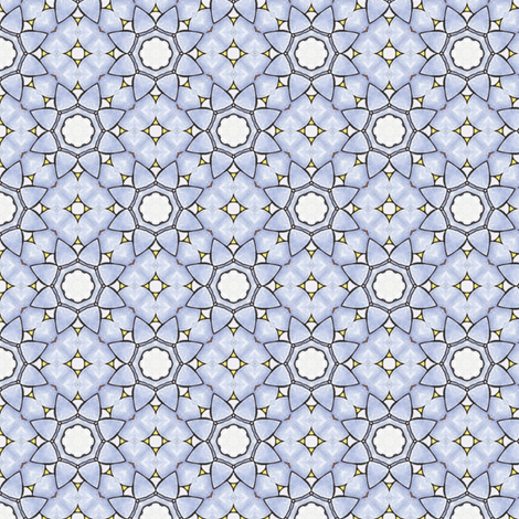 Sinicha's Coldflower fabric by siya on Spoonflower - custom fabric