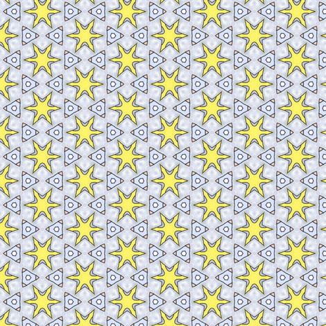 Sinicha's Shuriken fabric by siya on Spoonflower - custom fabric