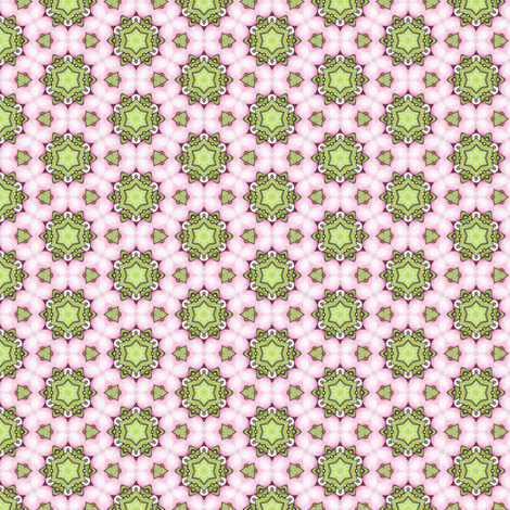 Rosalie's Star fabric by siya on Spoonflower - custom fabric