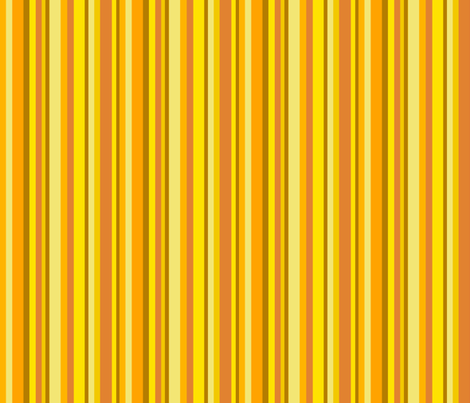Leaf  Yellow Stripe fabric by uzumakijo on Spoonflower - custom fabric