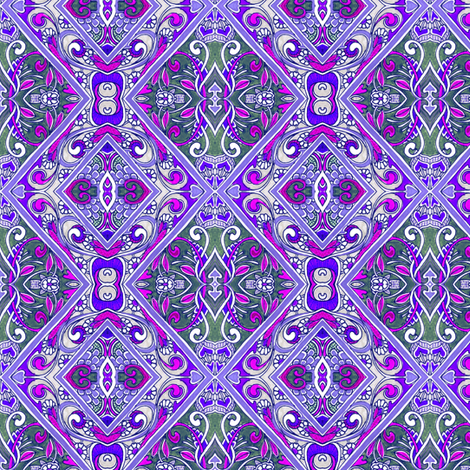 Contemplations on a Lavender Lavenderia fabric by edsel2084 on Spoonflower - custom fabric