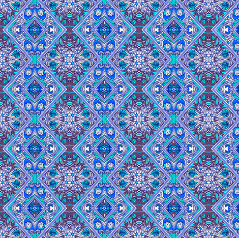 Baby Blanket Nouveau fabric by edsel2084 on Spoonflower - custom fabric