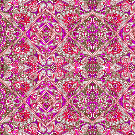 No Joke Baroque fabric by edsel2084 on Spoonflower - custom fabric