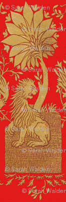 Thirteenth Century Golden Lion