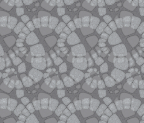 zoic_stone fabric by glimmericks on Spoonflower - custom fabric