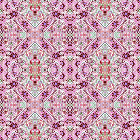 Sugar and Spice and Everything Nice fabric by edsel2084 on Spoonflower - custom fabric