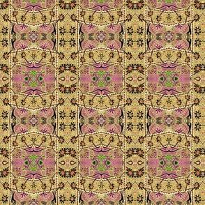 Zig Zag Swiss Tapestry