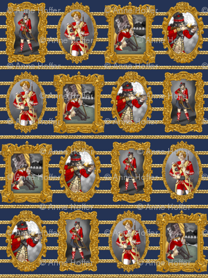 Large Redcoat Portraits
