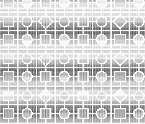 Art By Typewriter - Geometric fabric by shelleymade on Spoonflower - custom fabric