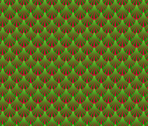 fanout holiday fabric by glimmericks on Spoonflower - custom fabric