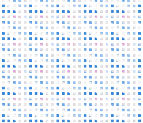 blue wash checks fabric by mojiarts on Spoonflower - custom fabric