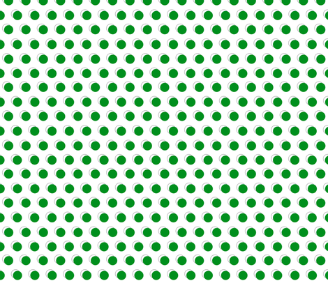 green dots fabric by mojiarts on Spoonflower - custom fabric