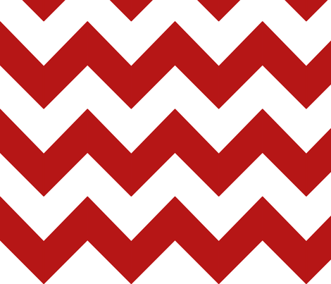 apple red chevron fabric by mojiarts on Spoonflower - custom fabric