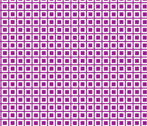 plum mod squares fabric by mojiarts on Spoonflower - custom fabric