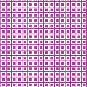 plum mod squares