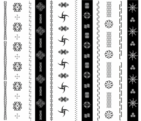 fun_with_keyboard_symbols fabric by bosun on Spoonflower - custom fabric