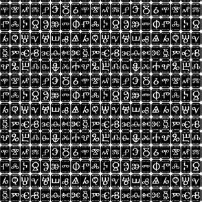 Glagolic alphabet