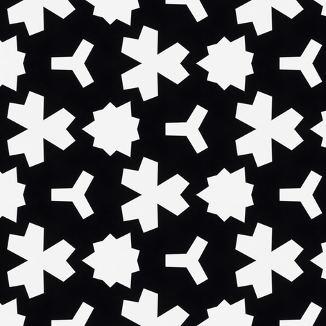 Weizigt Black & White fabric by stoflab on Spoonflower - custom fabric