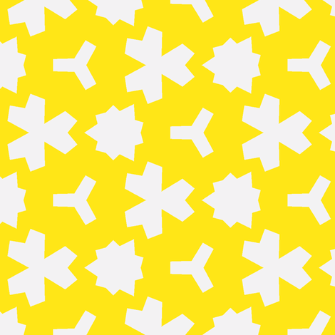 Weizigt Yellow fabric by stoflab on Spoonflower - custom fabric