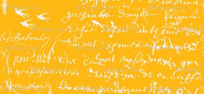 French Script Bold, Duck's Beak