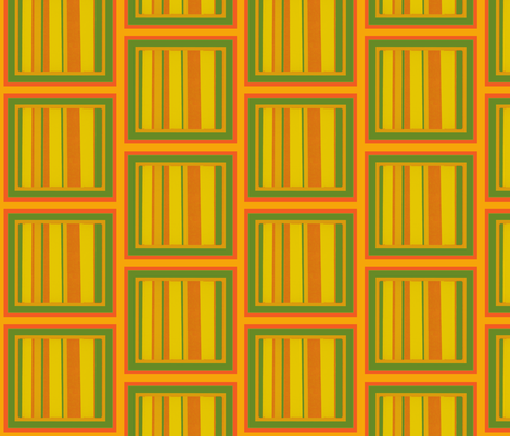 Tall stripey squares fabric by dnbmama on Spoonflower - custom fabric