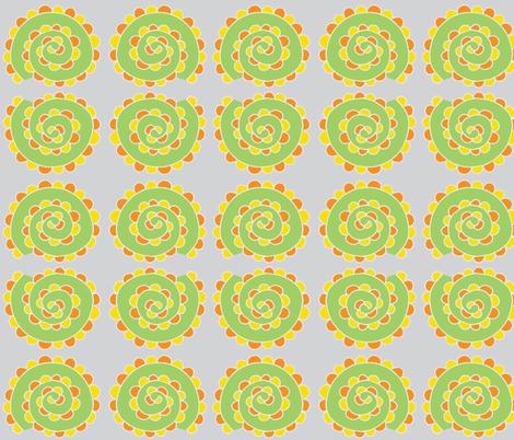 swirly snail light gray