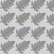 gray/green leaf dark