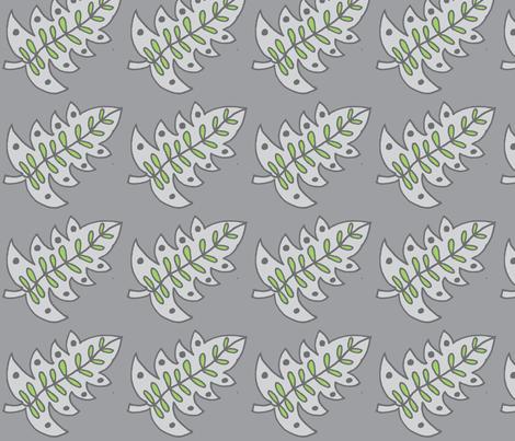 gray/green leaf light