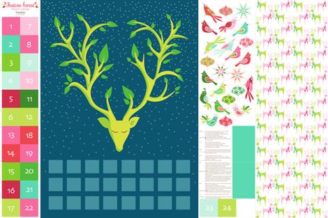 Festive Forest Advent Calendar